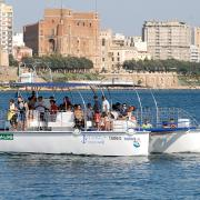 Il catamarano Taras (foto JDC)