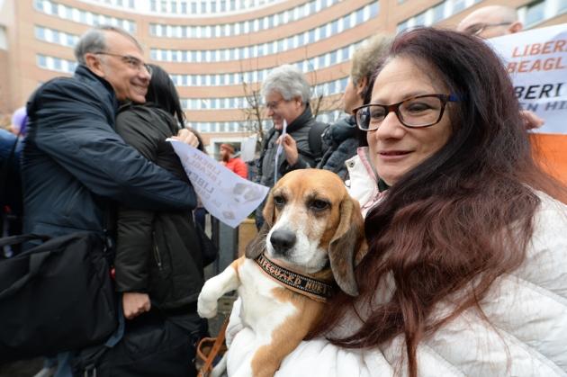 Gianluca Felicetti, Presidente LAV e l'Avv. Carla Campanaro