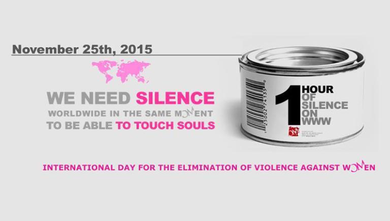 Giornata mondiale per eliminazione della violenza contro le donne