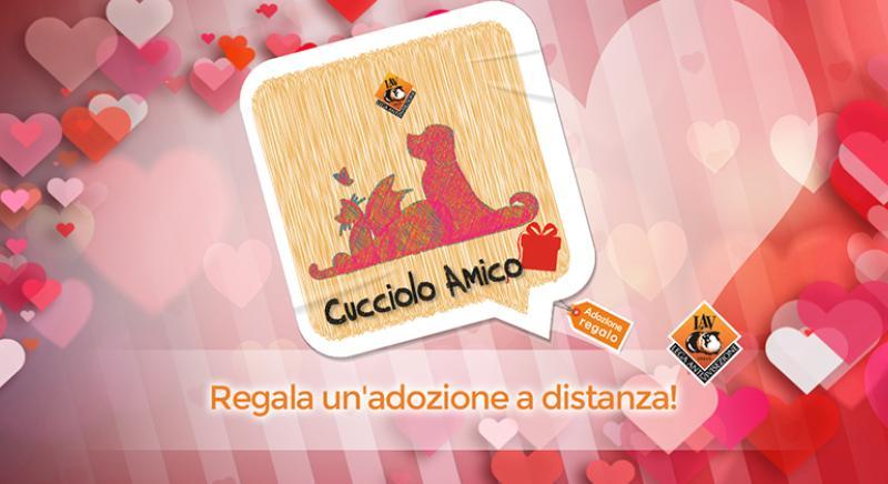 A San Valentino regala l'Adozione a distanza Cucciolo Amico