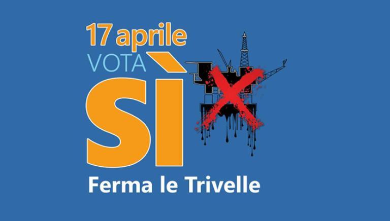 Un Mare Nero:parte la campagna per il referendum 17 aprile sulle trivelle