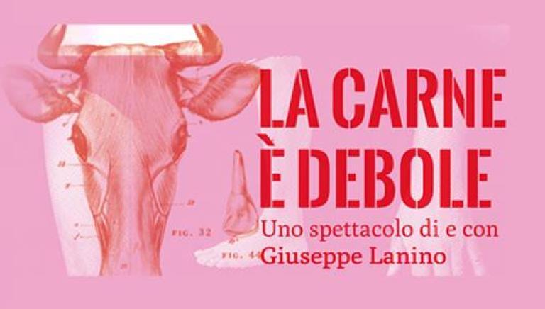 """Monologo teatrale """"La carne è debole"""" in scena a Roma"""