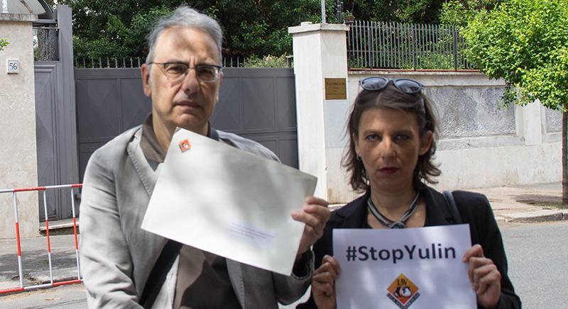 #StopYulin: la nostra lettera consegnata all'Ambasciata Cinese