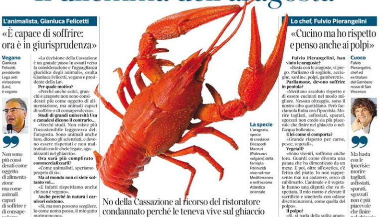 Oggi sul Corriere della Sera: una vittoria partita dalla LAV!