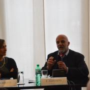 Cristina Nadotti (giornalista La Repubblica), Fabrizio Gavosto (direttore artistico del Festival Mirabilia di circo contemporaneo)