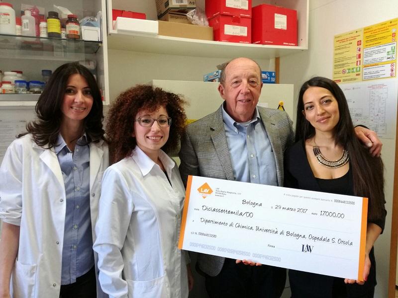 Ricerca con #ZEROANIMALI: LAV finanzia progetto all'Università di Bologna