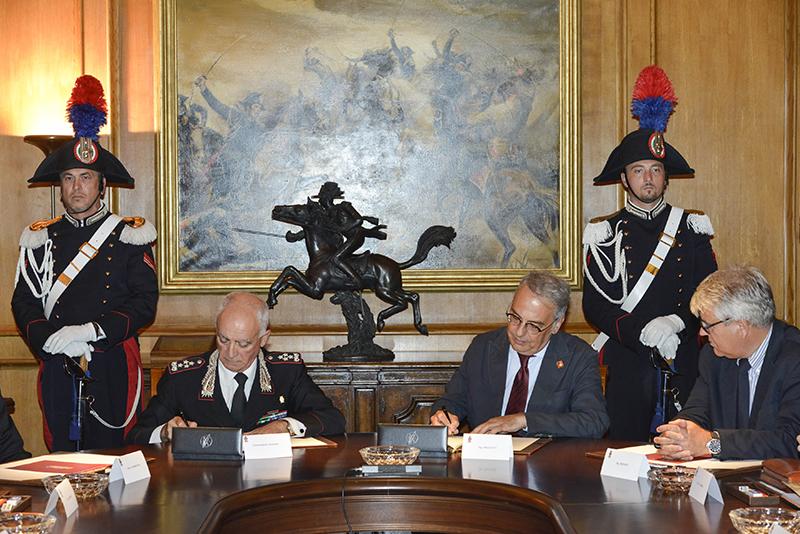 La firma del Protocollo tra LAV e Carabinieri
