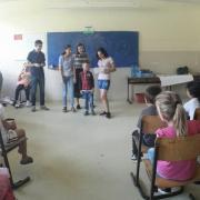 Le attività LAV nella scuola di Peja