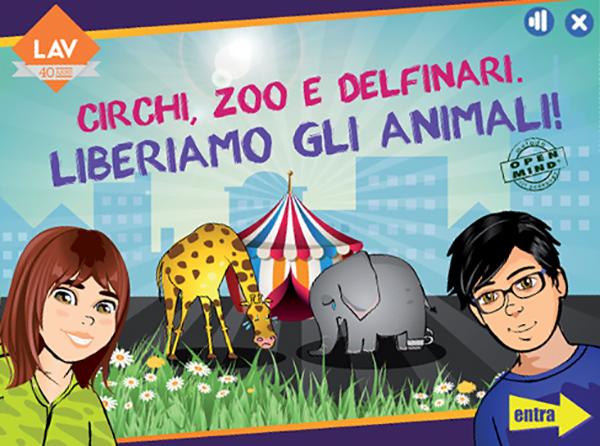 E' online il nuovo progetto multimediale per le scuole su circhi, zoo e delfinari