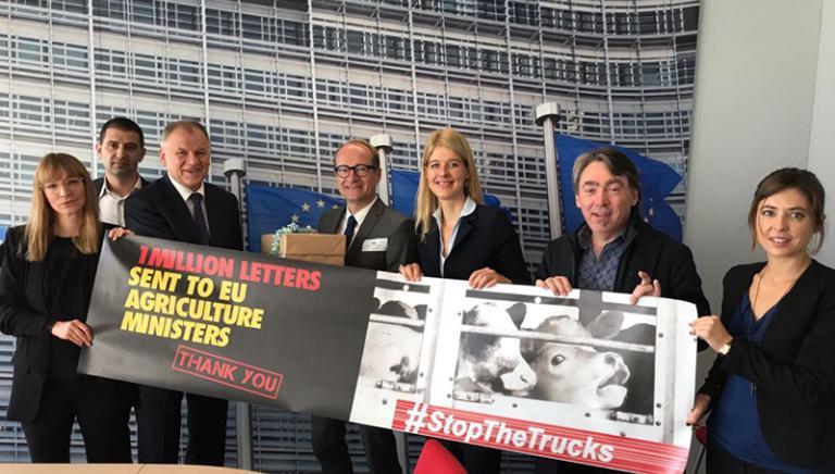 #STOPTHETRUCKS Trasporto animali di nuovo in agenda della Commissione UE
