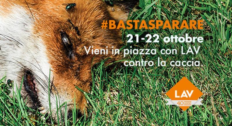 #BASTASPARARE Il 21-22 ottobre scendi in piazza con noi!