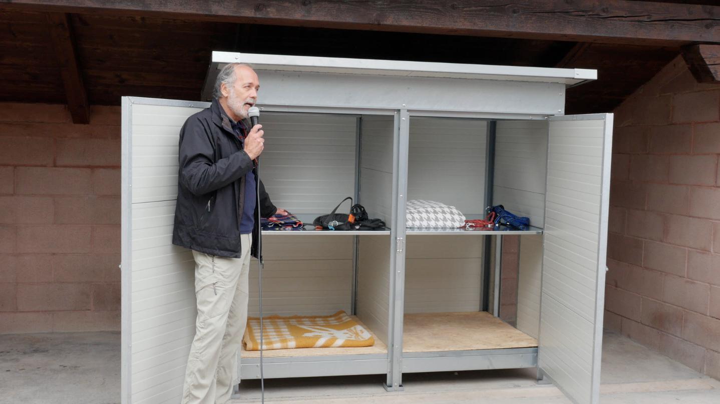 """Le nuove """"zone notte"""" donate al rifugio APACA"""