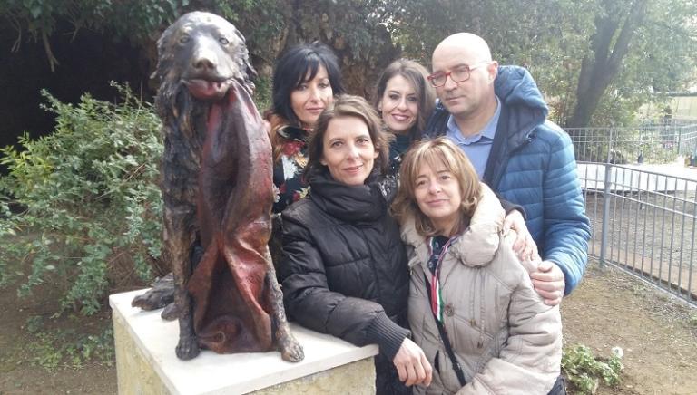 Livorno: una statua per ricordare Snoopy, ucciso a colpi di carabina