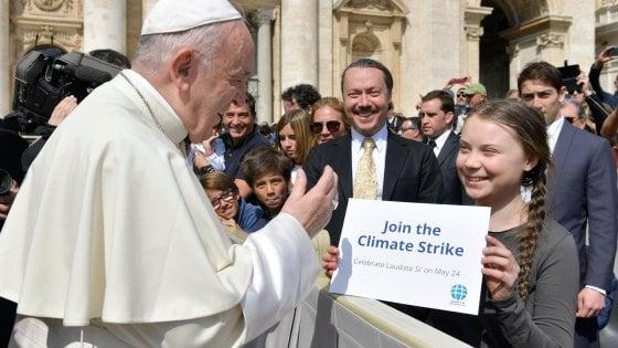 Greta a Roma: le nostre proposte e il 1°sciopero nazionale vegan per il clima