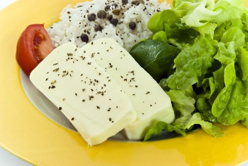 Tofu nel piatto
