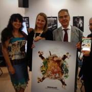 Super cibi per la mente! Eccoci alla presentazione con la giornalista Roberta Maresci e l'editore di Sonda Antonio Monaco