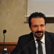 Il deputato Alessio Tacconi (M5S), intervenuto in conferenza stampa al Senato