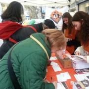 I nostri volontari a Napoli
