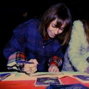 Anche la blogger Alice Agnelli firma le nostre cartoline...
