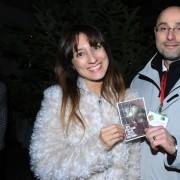 Ed ecco Alice Agnelli con il nostro Simone Pavesi