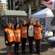 L'onorevole Michela Brambilla con le nostre volontarie