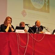 Relatori al convegno: Segurini (LAV), Pocar (Comune Milano), Felicetti (LAV), Sala (Corriere della Sera), Candotti (Veterinario)