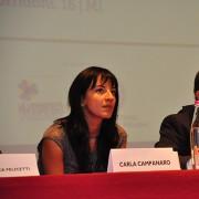 L'avv. Campanaro (Uff. Legale LAV) e il moderatore Alessandro Sala (giornalista)