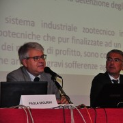 Roberto Bennati (Vicepresidente LAV) , Gianluca Felicetti (Presidente LAV), l'avv. Carla Campanaro