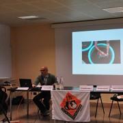 Il dott. Poalo Candotti (medico veterinario)  è intervenuto sul tema delle sofferenze dei pesci e crostacei