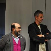 L'editore Sonda, Leemann e Felicetti alla premiazione di  Will Tuttle