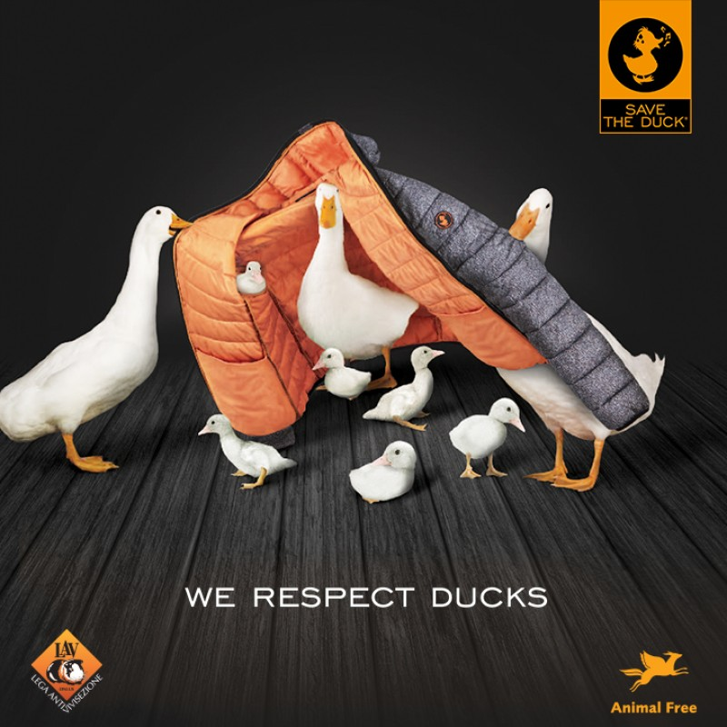Save The Duck aderisce a Animal Free con il massimo livello di rating