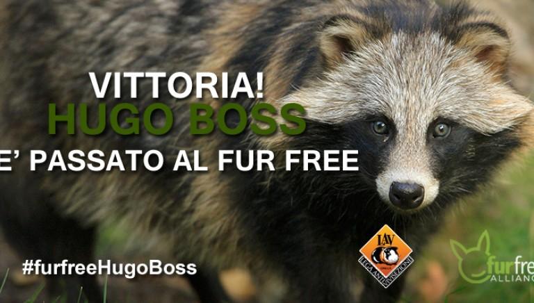 Hugo Boss passa al Fur-Free. Mai più pellicce animali!
