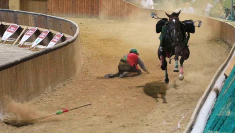 Cavalli morti alla Giostra dell'Orso di Pistoia: sei indagati. Basta palii!