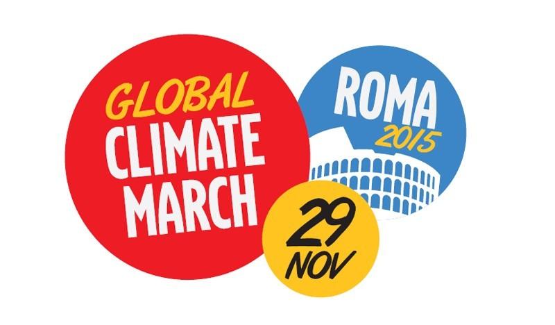 Marcia con noi per il clima, domenica 29 novembre a Roma