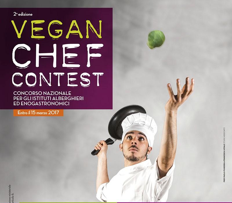 Il Vegan Chef Contest  arriva alla 2° edizione. Scoprite come partecipare