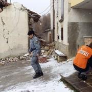 #TerremotoItalia - Comune di Amatrice innevato