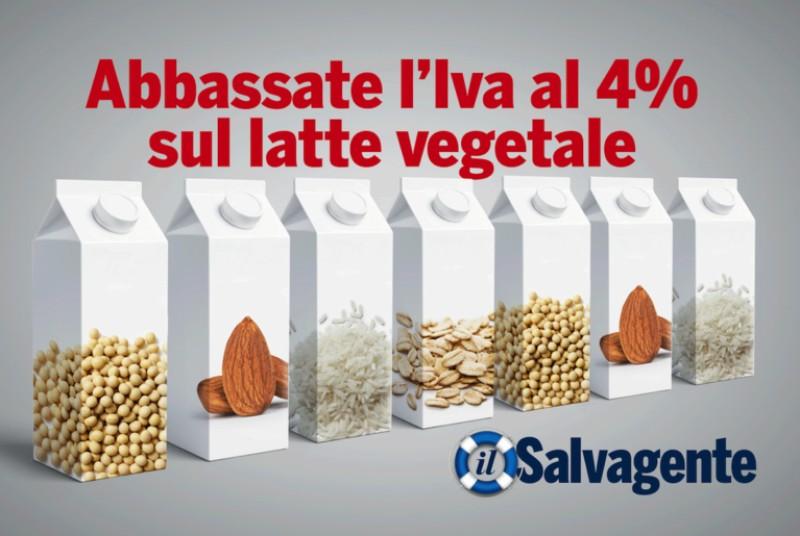 Chiediamo di abbassare l'Iva al 4% sul latte vegetale. Firma anche tu!