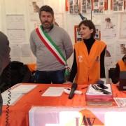 Firma alla presenza del Sindaco di Cittareale, Francesco Nelli e Ilaria Innocenti