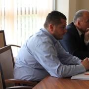 Il Sindaco e il Capo di Gabinetto della Municipalità di Peja