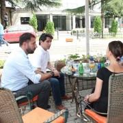 Incontro con l'Assessore alla cultura della Municipalità di Peja