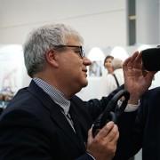 #ENDPIGPAIN - Presentazione Mostra Fotografica e VR investigazioni LAV - Foto con il Commissario UE Andriukaitis ed Roberto Bennati Vice Presidente LAV