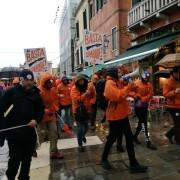 Manifestazione LAV a Venezia