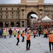Flash mob Let it Beee a Firenze