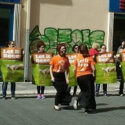 Flash mob Let it Beee a Bari