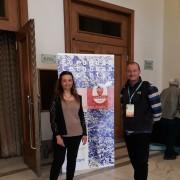 Joan Gonzalvo (biologo marino, Istituto di Ricerca Tethys ) e Gaia Angelini (LAV Area Animali Esotici)