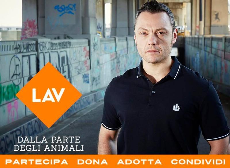 Tiziano Ferro sostiene il progetto LAV per i cani di Palermo