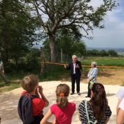 Roberto Bennati (vicepresidente LAV) illustra le nuove aree