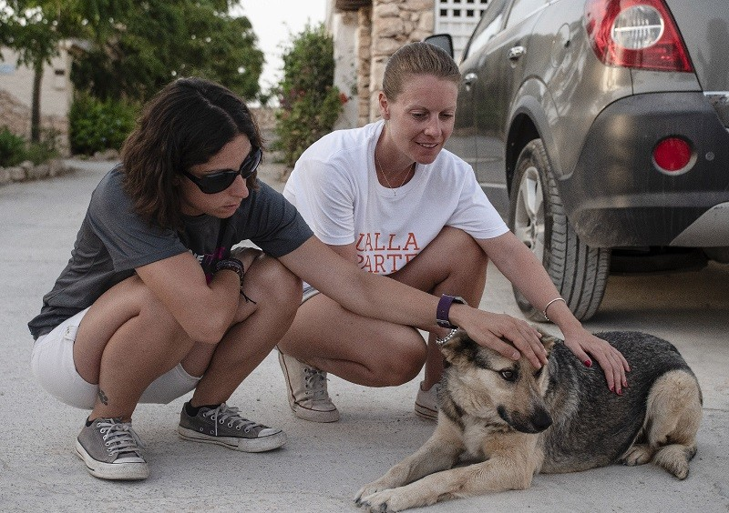 Staff LAV e volontari scendono in strada a Lampedusa