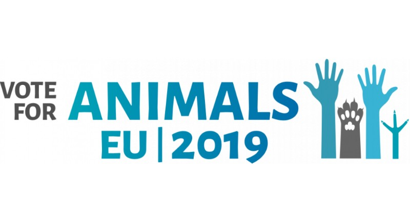 Il 26 maggio alle Elezioni Europee vota per gli animali! #voteforanimals2019