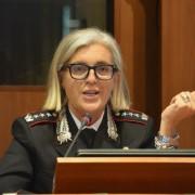 Colonnello Luisa Corbetta del Raggruppamento Carabinieri Cites